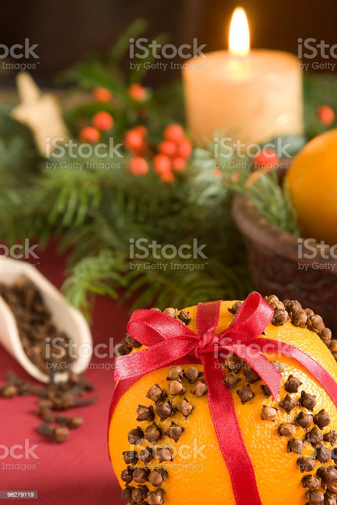 Pomander royalty-free stock photo