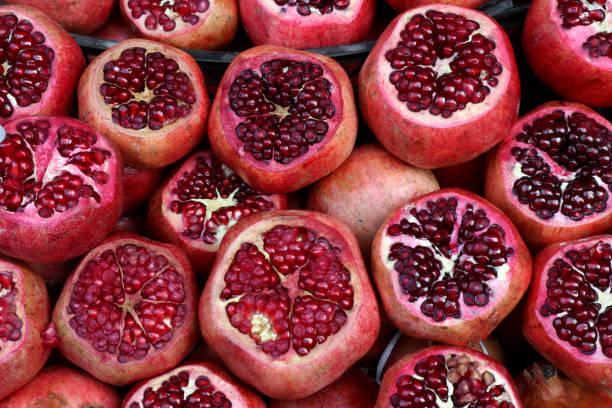 Granatapfel-Hintergrund – Foto