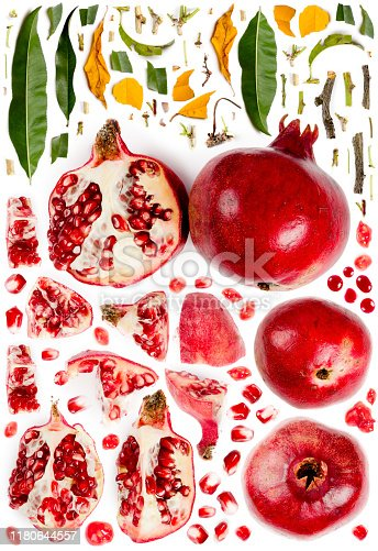 istock Pomegranate Collection Abstract 1180644557
