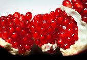 Pomegranate seeds.