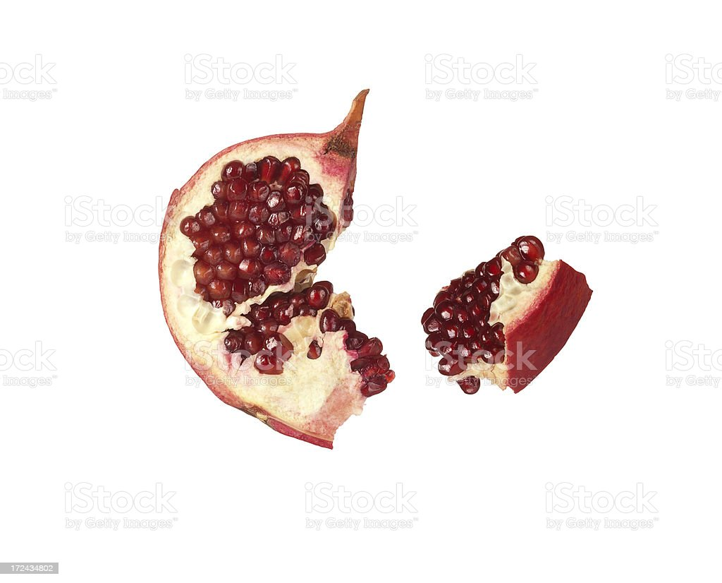 Pomegranate (Click for more) royalty-free stock photo