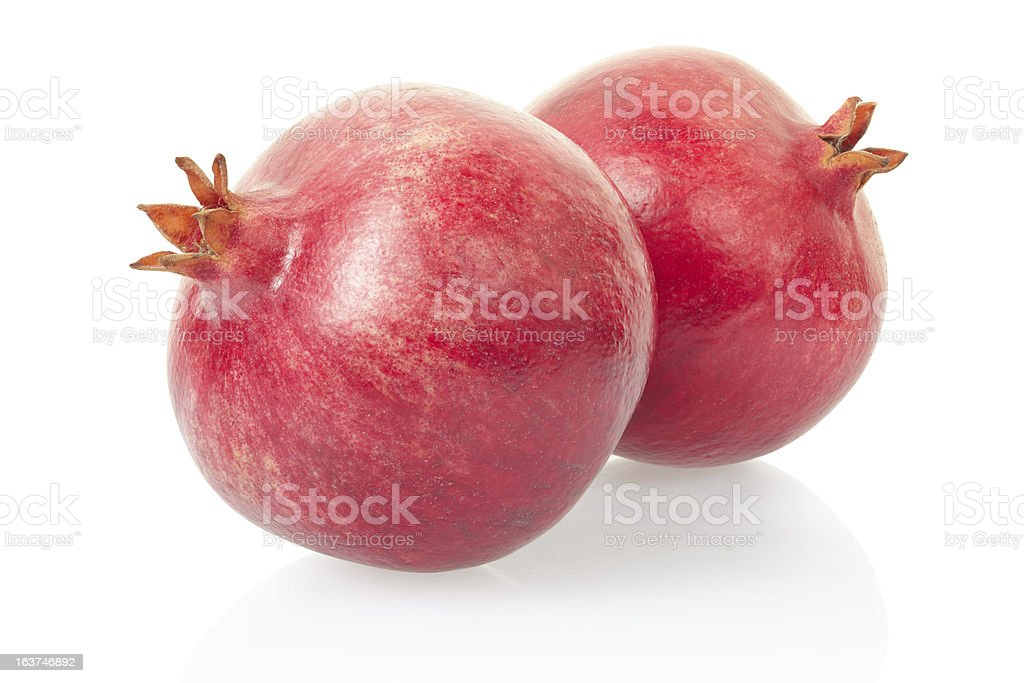 Pomegranate, red fruit royalty-free stock photo