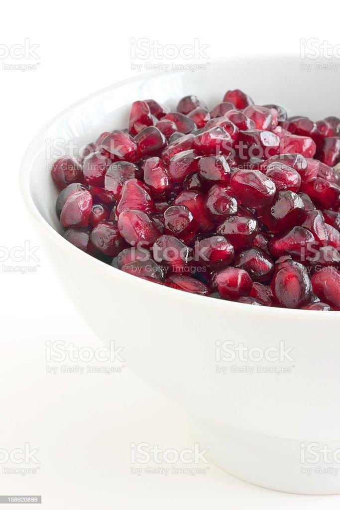 Pomegranate seeds royalty-free stock photo