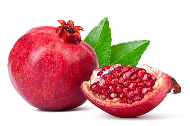 pomegranate seeds - pomegranate stock photos and pictures