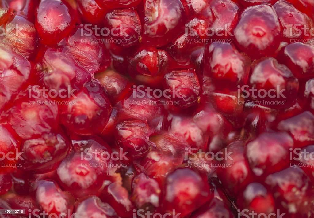 pomegranate seeds texture royalty-free stock photo