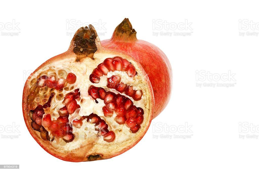 Pomegranates. royalty-free stock photo