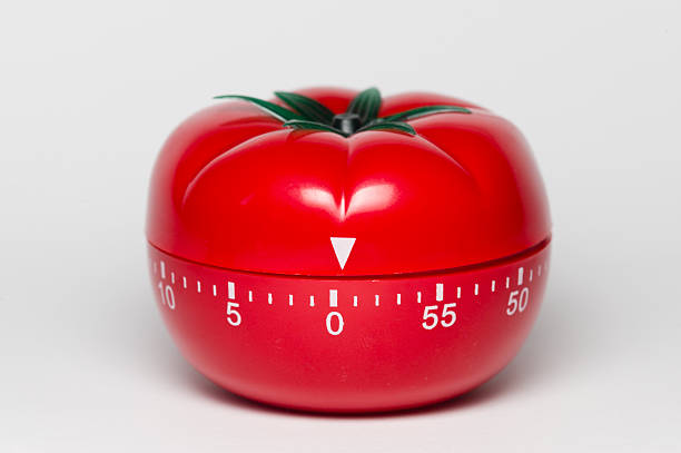 Pomodoro técnica - foto de stock