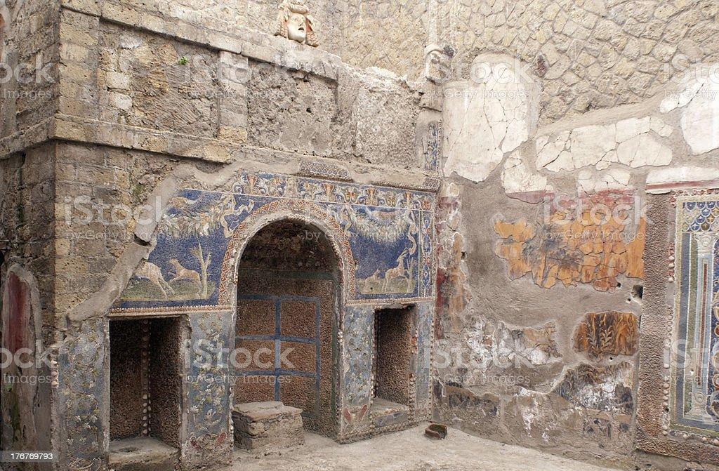 Pompei royalty-free stock photo