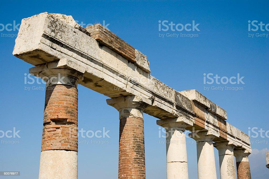 Pompei_Roman_Antiquites stock photo