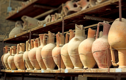 Pompeii amphoras