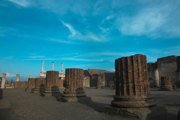 Pompeii Italy stock photo