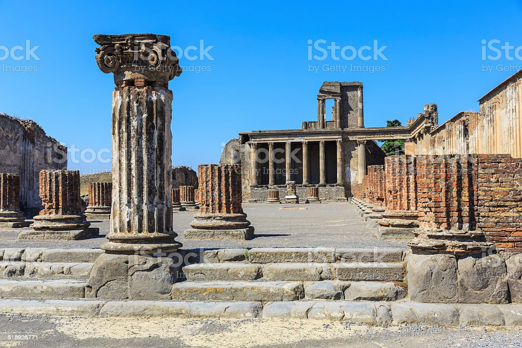 Pompeii, Italy stock photo