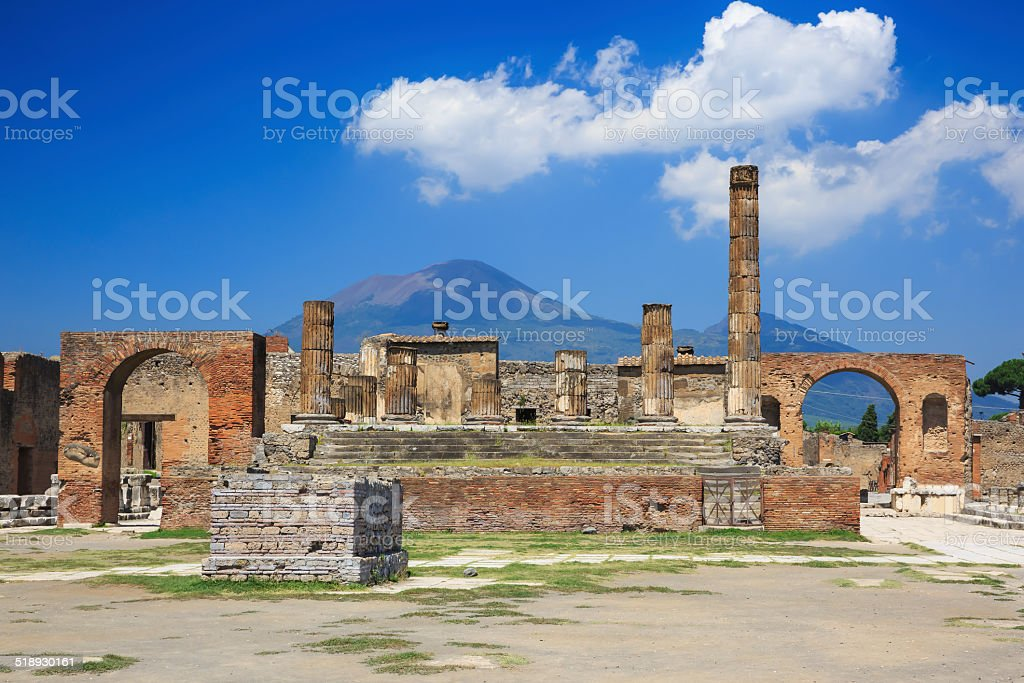 Pompeii, Italy stock photo