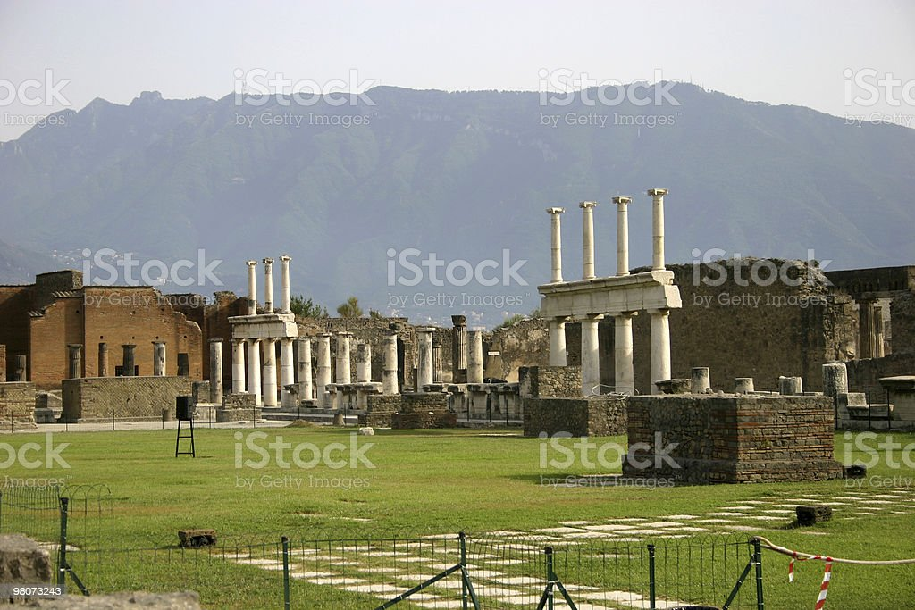 Pompei foto stock royalty-free