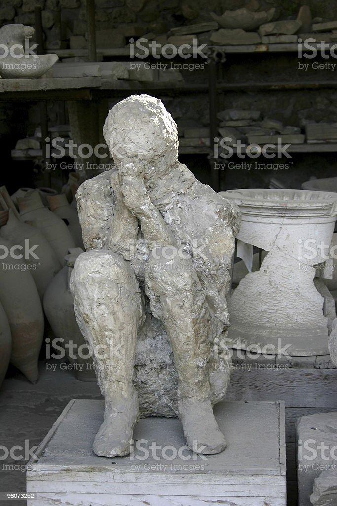 Pompeii royalty-free stock photo