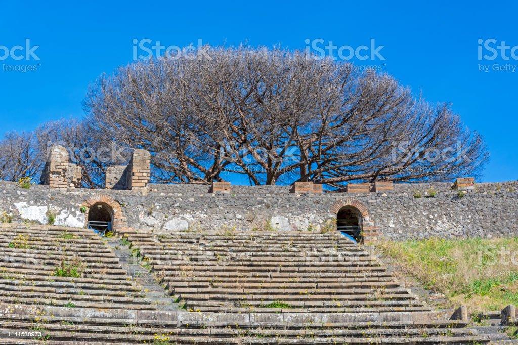 Pompeii Ruins In Italy Stock Photo Download Image Now Istock