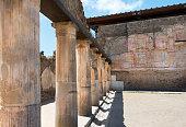 Pompeii ruins, UNESCO World Heritage Site, Campania region, Italy