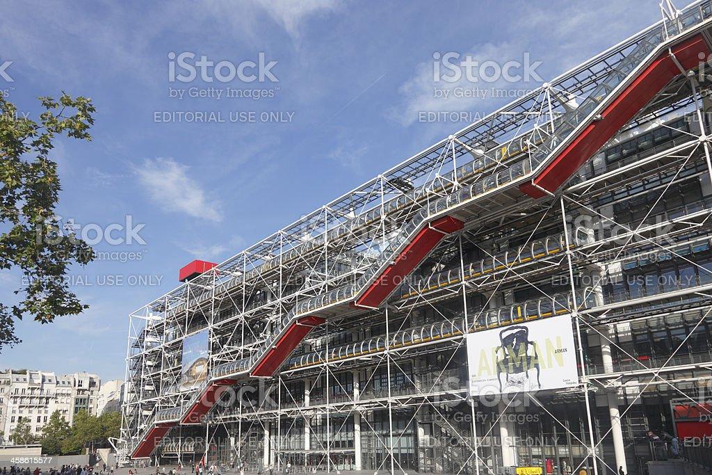 Pompidou Centre royalty-free stock photo
