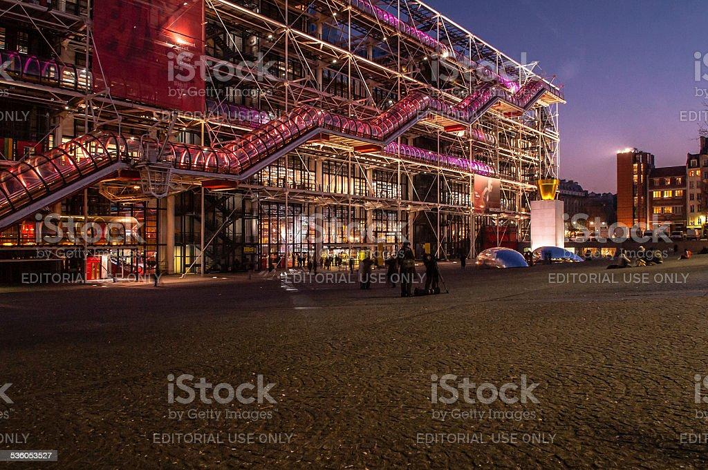 Pompidou Centre stock photo