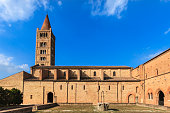 istock Pomposa Abbey, a Romanesque building dating to the 9th century (Emilia-Romagna, Italy) 1020593268