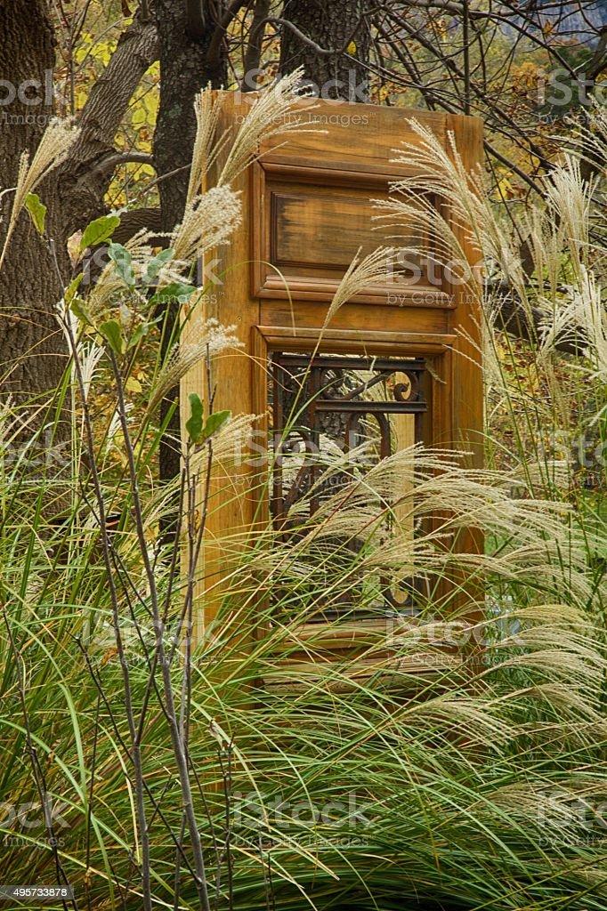 Pompous Door stock photo