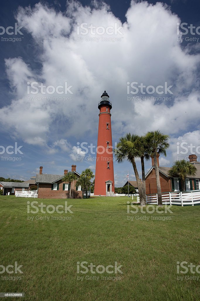 Ponce de Leon Inlet Lighthouse stock photo