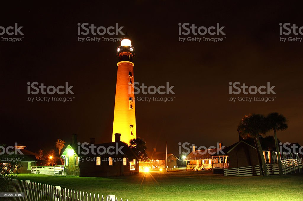 Ponce Inlet Lighthouse stock photo