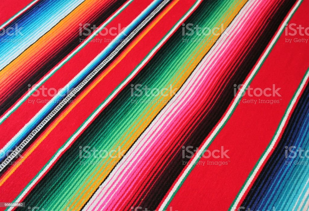 poncho background mexican mexico cinco de mayo fiesta copy space, stock photo