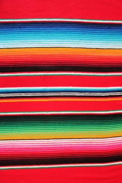 poncho background mexican mexico cinco de mayo fiesta copy space, - cinco de mayo stock photos and pictures