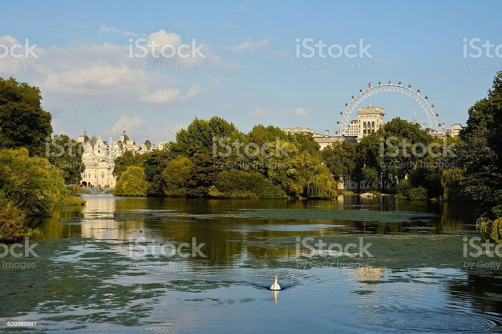 Teich in St. James's Park in London – Foto