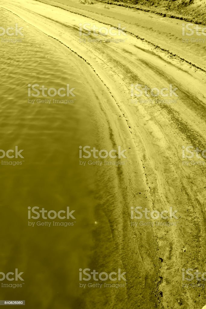 pond scenery in the rural areas, China stock photo