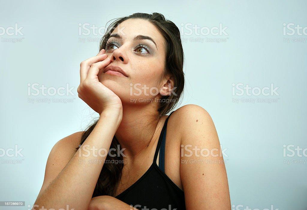 Pondering royalty-free stock photo