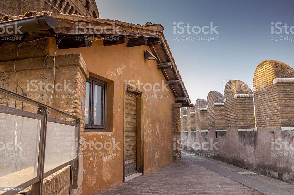 Pons Aelius, Sant'Angelo stock photo