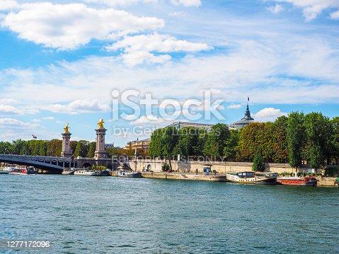 istock Pont Alexandre III and Grand Palais, Paris 1277172096