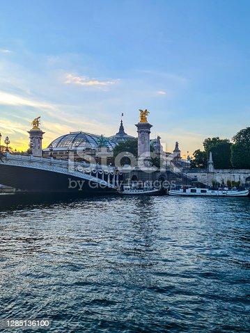 istock Pont Alexandre III and Grand Palais, Paris 1285136100