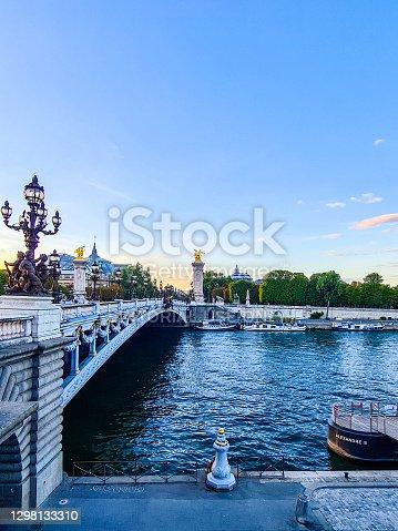 istock Pont Alexandre III and Grand Palais, Paris 1298133310