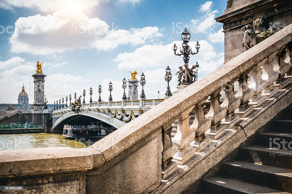 Pont Alexandre III in Paris – Foto