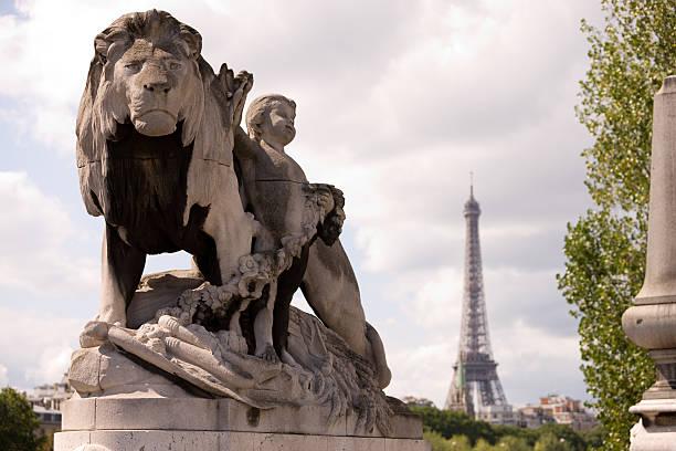 Pont Alexandre III (Seine, Paris) stock photo