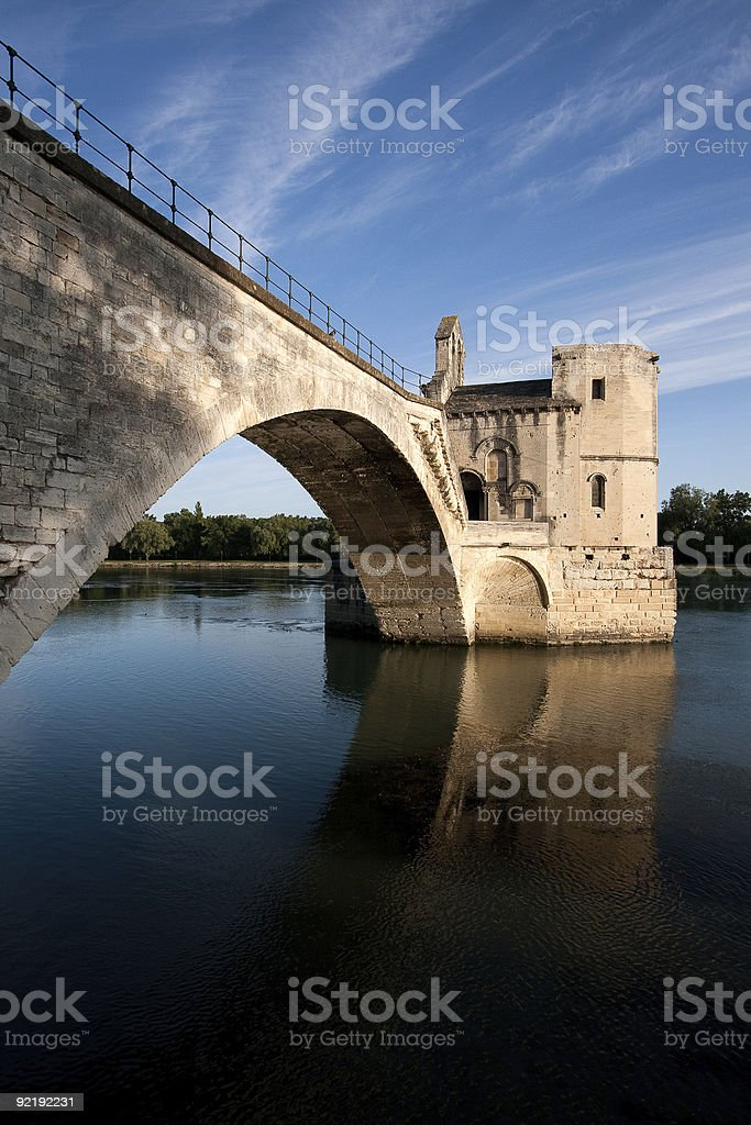 Pont D'Avignon stock photo