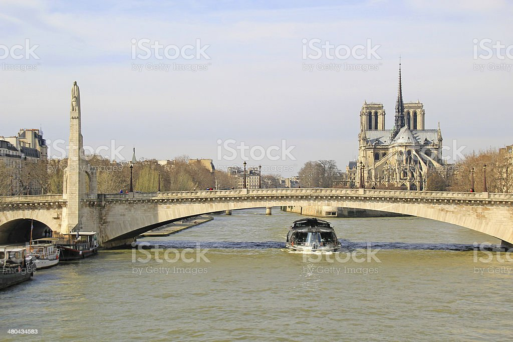 Pont De La Tournelle In Paris France Stock Photo Download