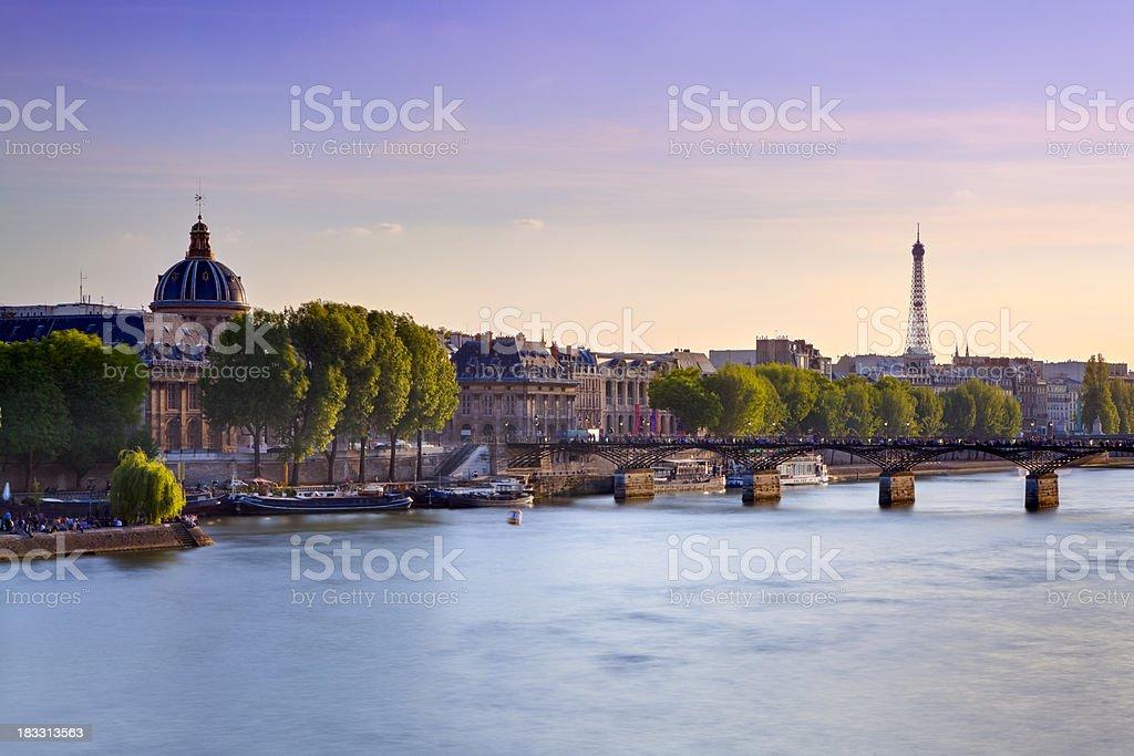 Pont des Arts Bridge, Paris royalty-free stock photo