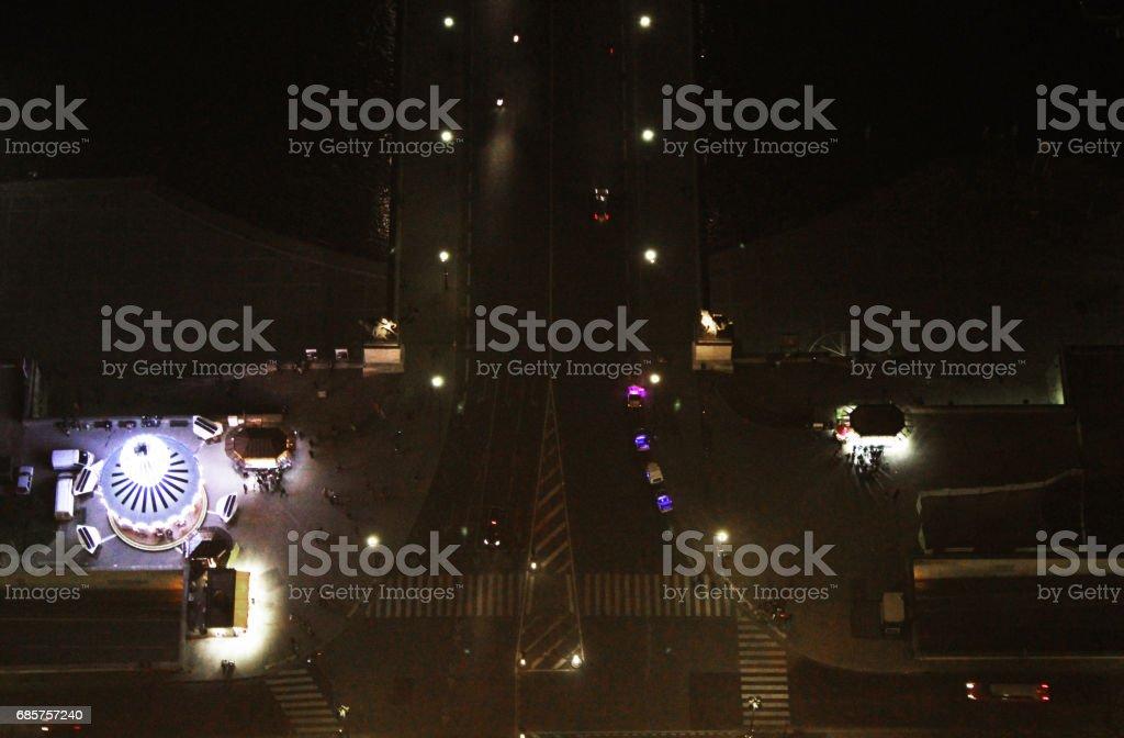 Pont d'Lena royalty-free stock photo
