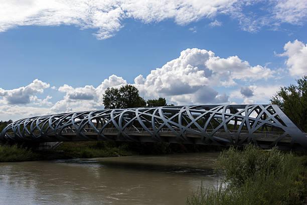 Pont Hans-Wilsdorf Brücke in Genf in der Schweiz – Foto