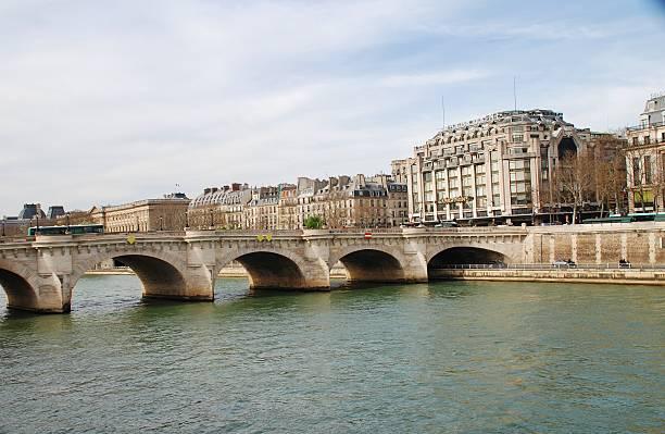 Pont Neuf, Paris stock photo