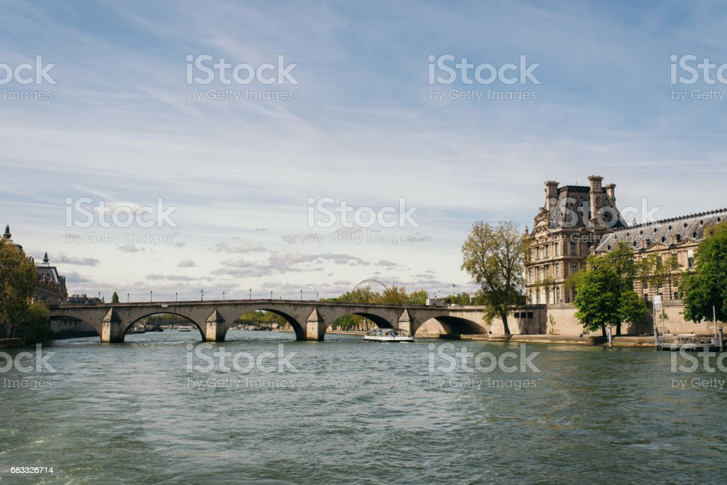 Pont Royal bridge over the River Seine royalty-free stock photo