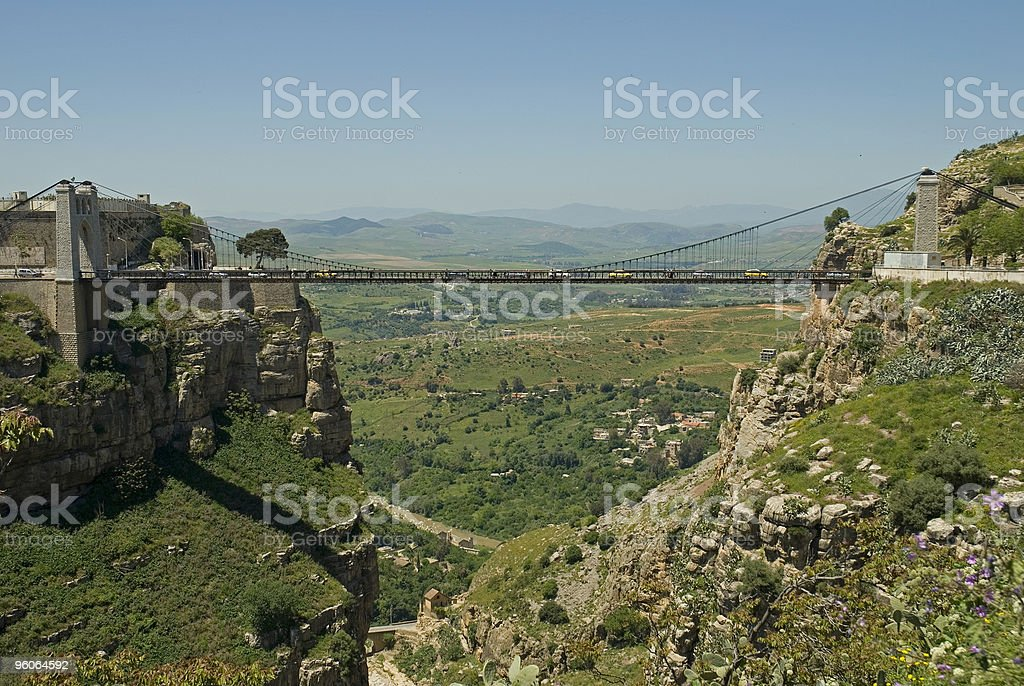 Pont Sidi MCid stock photo