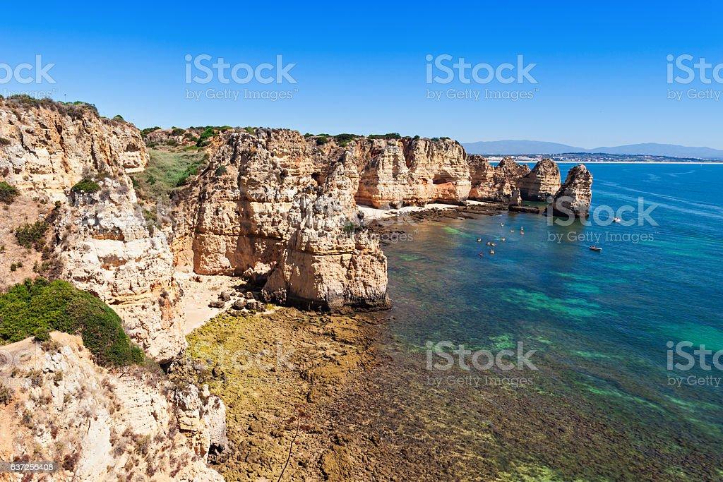Ponta da Piedade stock photo