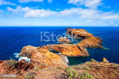 Ponta de Sao Lourenco means Point of Saint Lawrence is the easternmost point of the Madeira island in Portugal