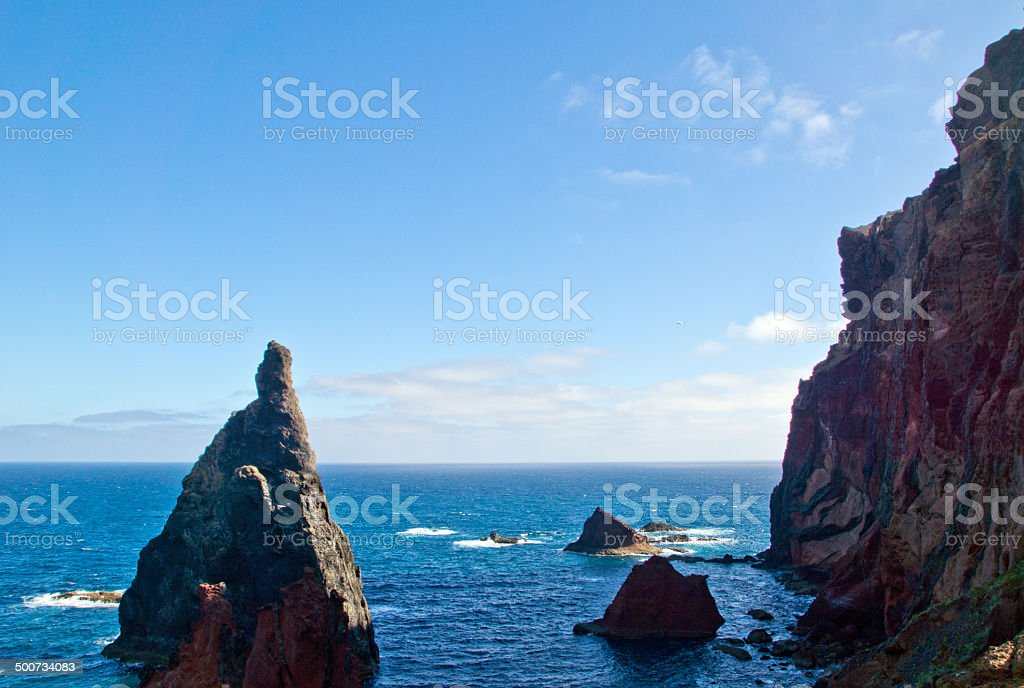 Ponta de São Lourenço, Madeira stock photo
