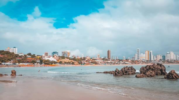 Praia de Ponta Negra em Natal, Brazil - foto de acervo